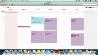 27. Creating Calendar Events