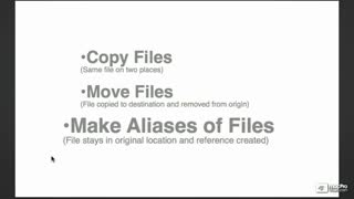 22. Managing Files with Aliases