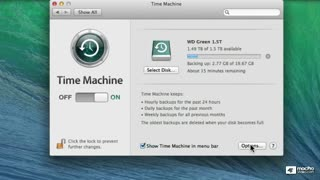 27. Using Multiple Time Machine Drives