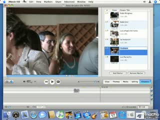 86. Taking The iMovie Chapters To iDVD