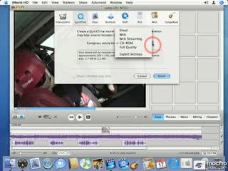 53. Exporting To QuickTime