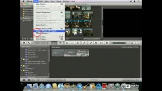 72 Importing iMovie HD Projects
