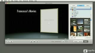 31. Movies from the Media Browser and iMovie