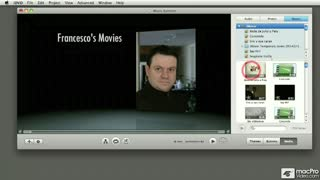 32. Sharing iMovie Projects and Movies to iDVD