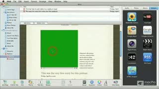 42. Adding Video Using Your iSight