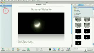 05. Adding iWeb Sites