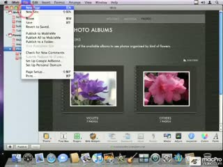 67. Publishing All to MobileMe