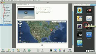 33. Adding Other Widgets: iSight Photos