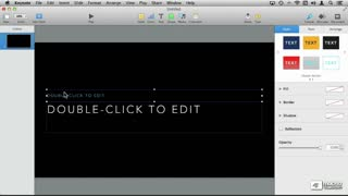 5. Adding Text & Images (OS X)