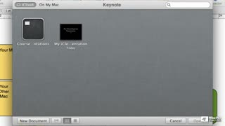 22. Accessing Files in iCloud