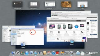 20. Managing Desktops with Mission Control