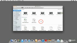 9. Grouping Items in a Folder