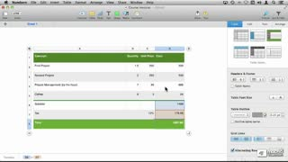 18. Formatting Cells on the Mac