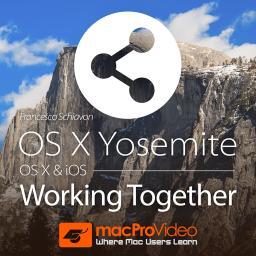 OS X Yosemite 103 OS X & iOS: Working Together Product Image