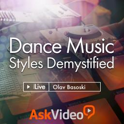 Live 9 305 Dance Music Styles Demystified Product Image