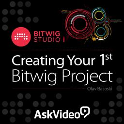 Bitwig Studio 101 Creating Your 1st Bitwig Project Product Image