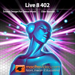 Live 8 402 Designing Sounds for Dance Music Product Image