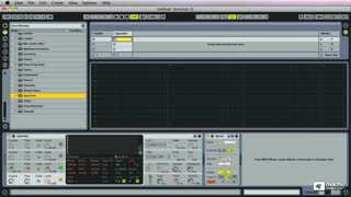 Live 8 402: Designing Sounds for Dance Music - Preview Video