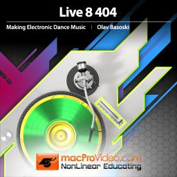 Live 8 404 Making Electronic Dance Music Product Image