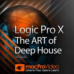 Logic Pro X 408 The ART of Deep House Product Image