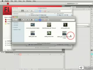 134. Adding a Source Video File to the Queue in Adobe Media Enco