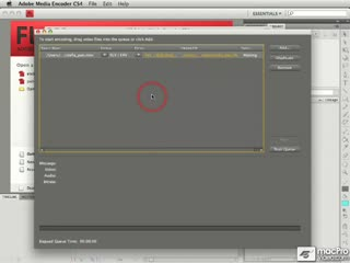 136. Editing a Preset in Adobe Media Encoder CS4