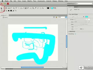 42. Using a Tablet with the Brush Tool