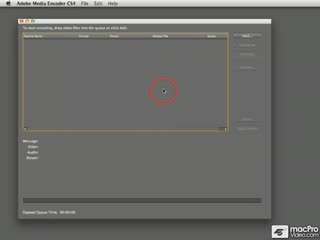 68. Adding a Clip to the Job Queue in Adobe Media Encoder