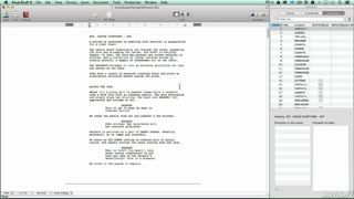 2. Final Draft Basics : Screenwriting Terms