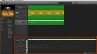 21. Using the Piano Roll Editor
