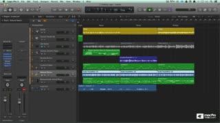 34. Logic Pro's Mixer