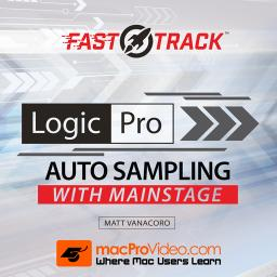 Logic Pro FastTrack 304Auto Sampling with MainStage Product Image