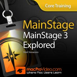 MainStage 3 101Core Training: MainStage 3 Explored Product Image