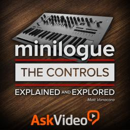 Korg minilogue 101The Controls Explained and Explored Product Image