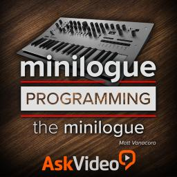 Korg minilogue 201Programming the minilogue Product Image