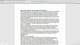 16. Page Size, Orientation, Margins