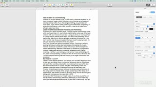 4. Multi-page Document Options