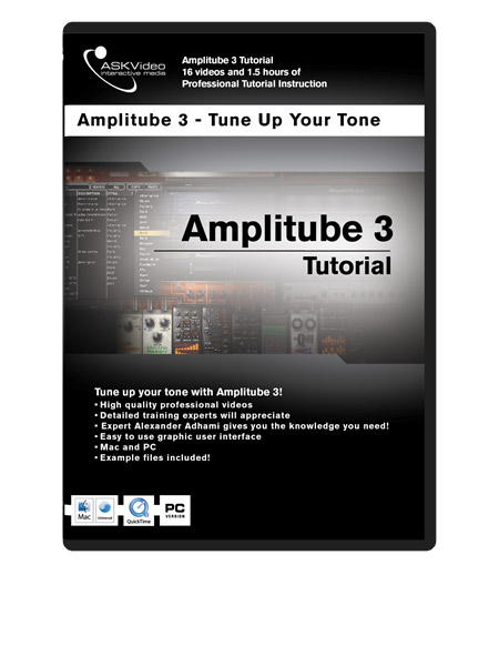 Amplitube 3 501: Working with Amplitube