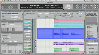 Digital Performer 8 101: Working With Audio - Preview Video