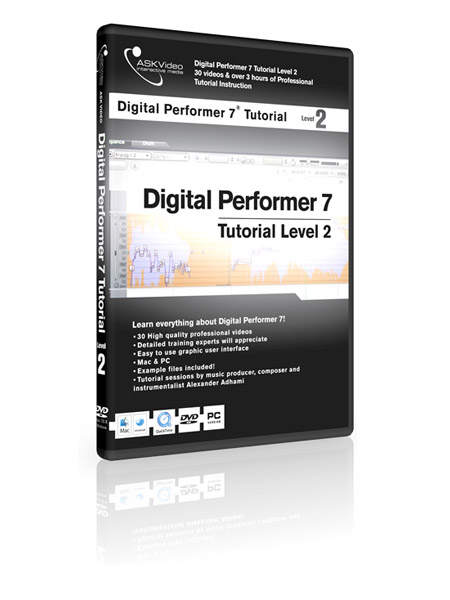 Digital Performer 7 502 - Working with Digital Performer 7 - Level 2