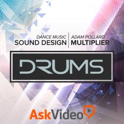Dance Music Sound Design 104 Drums Product Image