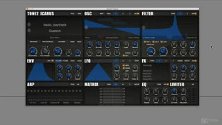 Dance Music Sound Design 305: Pads Advanced - Preview Video