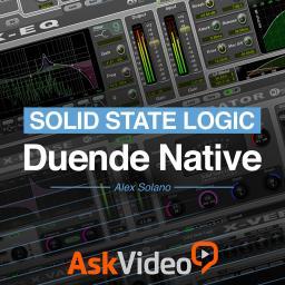 solid state logic 101 ssl duende native video tutorial. Black Bedroom Furniture Sets. Home Design Ideas