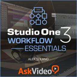 Studio One 104Workflow Essentials Product Image