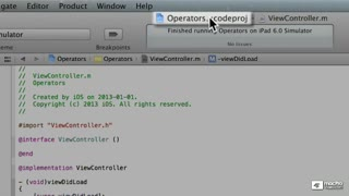 8. Introduction to Operators - Part 2