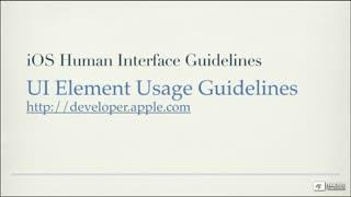 10. UI Element Usage Guidelines - Part 1