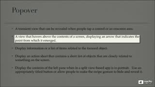 12. UI Element Usage Guidelines - Part 3