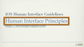 2. Human Interface Principles