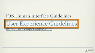 4. User Experience Guidelines - Part 1