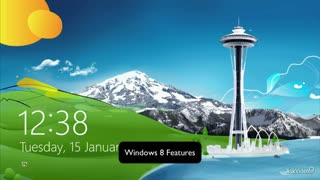 2. Windows 8 Features